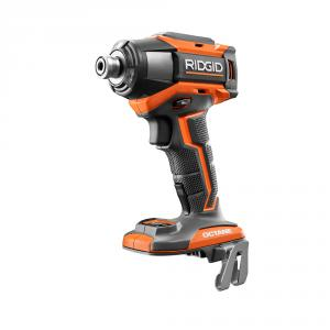 RIDGID OCTANE 18 Volt Brushless 6-Mode 1/4 In. Impact Driver
