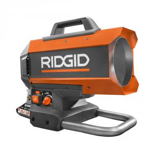 RIDGID 18 Volt Hybrid Forced Air Propane Portable Heater