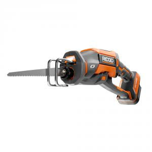 "RIDGID OCTANE 18 Volt Brushless One Handed <em class=""search-results-highlight"">Reciprocating</em> Saw"