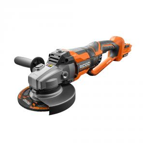 RIDGID 18 Volt OCTANE 7 In. Brushless Dual Angle Grinder
