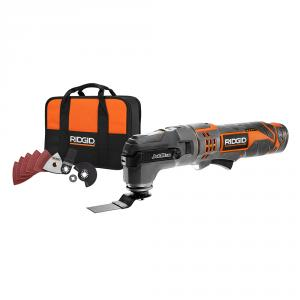 RIDGID JobMax 12 Volt  Multi-Tool with Tool-Free Head