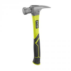 RYOBI 16 Oz. All Purpose Hammer with Fiberglass Handle