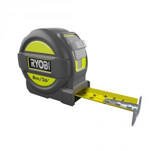 RYOBI 8M/26 Ft. Metric and English Scale Tape Measure
