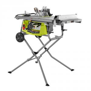 "Expanded Capacity Table Saw with <em class=""search-results-highlight"">Rolling</em> Stand"