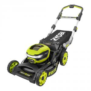 RYOBI 40 Volt Lithium-Ion 21 In. Brushless SMART TREK Self-Propelled Mower Kit