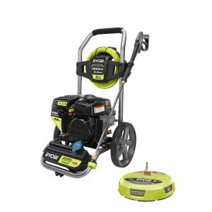 RYOBI 3,200 PSI 2.3 GPM Cold Water 196 cc Kohler Gas Pressure Washer with 15 in. Surface Cleaner