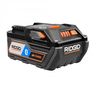 RIDGID OCTANE 18 Volt Lithium-Ion Bluetooth 6aH Battery Pack