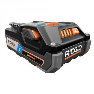 RIDGID OCTANE 18 Volt Lithium-Ion Bluetooth 3 Ah Battery Pack