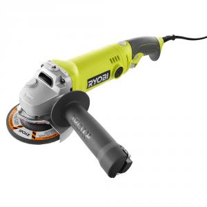 RYOBI 7.5 Amp Corded 4-1/2  In. Angle Grinder