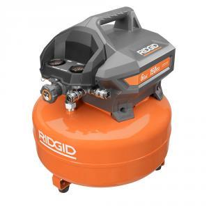 """RIDGID 6 Gallon Portable Pancake <em class=""""search-results-highlight"""">Air</em> Compressor"""