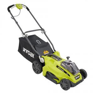RYOBI ONE+ 18 Volt Lithium-Ion Cordless Lawn Mower Kit