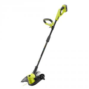 "RYOBI ONE+ 18 Volt Lithium-Ion <em class=""search-results-highlight"">Cordless</em> String Trimmer and Edger Kit"