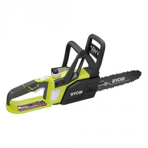RYOBI ONE+ 18 Volt Lithium-Ion 10 In. Chainsaw Kit