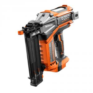RIDGID 18 Volt 2-1/8  In. Brushless Motor 18 Gauge Brad Nailer