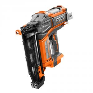 RIDGID 18 Volt 2-1/2  In. Brushless Motor 16 Gauge Finish Nailer