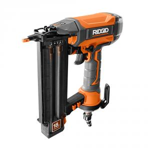 RIDGID 18 Gauge 2-1/8 In. CLEAN DRIVE Technology Brad Nailer