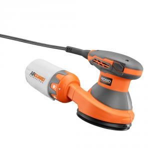 RIDGID 3 Amp 5  In. Corded Random Orbit Sander