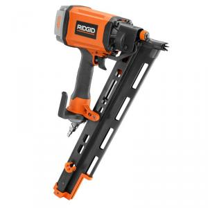 RIDGID 3-1/2 In. 21 Degree Round-Head Nailer