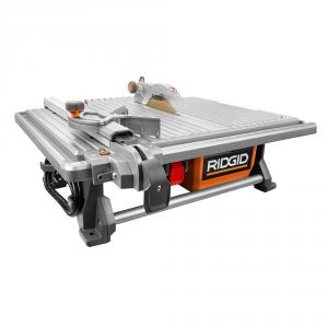 RIDGID 7 In. Table Top Wet Tile Saw