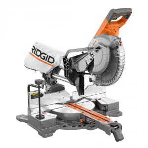 RIDGID 15 Amp 10 In. Corded Dual Bevel Sliding Miter Saw