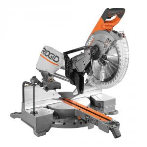 RIDGID 15 Amp Corded 12 In. Dual Bevel Sliding Miter Saw