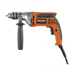 RIDGID 8 Amp 1/2 In. Heavy-Duty Variable Speed Reversible Drill