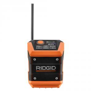 RIDGID 18 Volt Mini Bluetooth Radio