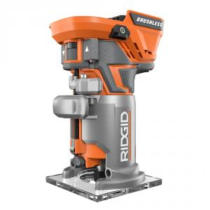 RIDGID GEN5X 18 Volt Brushless Compact Router with Fixed Base