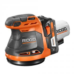 RIDGID GEN5X 18 Volt Lithium-Ion 5  In. Random Orbit Sander
