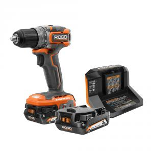 Special Buy: RIDGID 18 Volt SubCompact Brushless 1/2 In. Drill Kit
