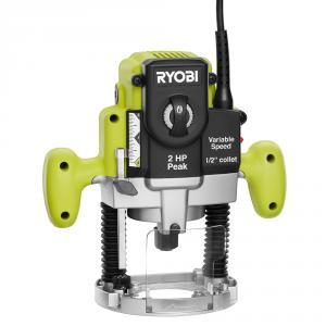 RYOBI 10 Amp 2 HP Plunge Base Router