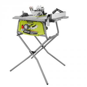 RYOBI 10 In. Table Saw with Folding Stand