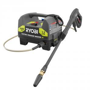 "RYOBI 1600 PSI 1.2 GPM Electric <em class=""search-results-highlight"">Pressure</em> <em class=""search-results-highlight"">Washer</em>"